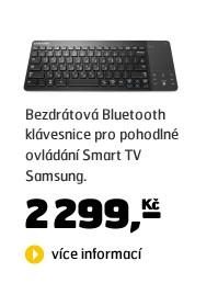 VG-KBD1000 (bezdrátová klávesnice s touchpadem k 3D SMART TV Samsung řady E/ES)