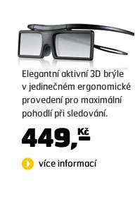 SSG-4100 (3D brýle, bateriové, pro aktivní 3D TV Samsung 2012 a 2011)