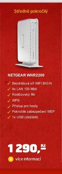 WiFi router N300 WNR2200-100PES