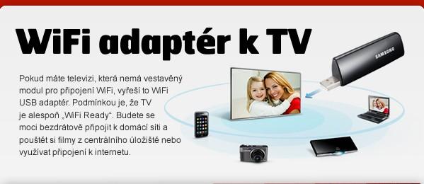 WiFi adaptér k TV