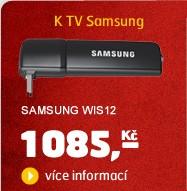 WIS12 (Wi-Fi USB adaptér k TV a BD Samsung)