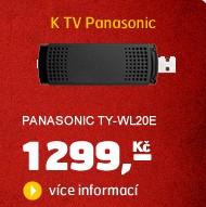 TY-WL20E (Wi-Fi USB adaptér k TV a BD Panasonic)