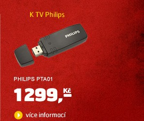 PTA01 (Wi-Fi USB adaptér k TV a BD Philips)