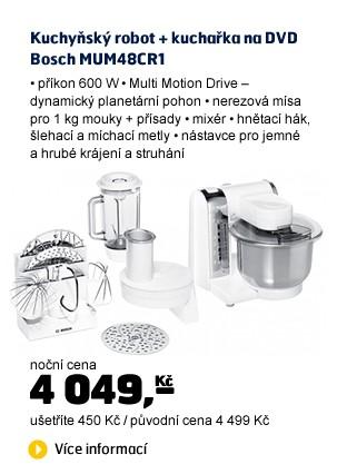 MUM48CR1+masomlýnek+ kuchařka na DVD