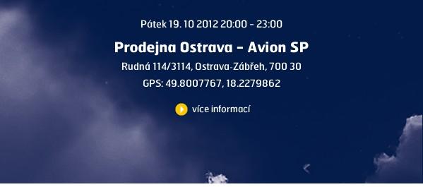 Ostrava - Avion SP