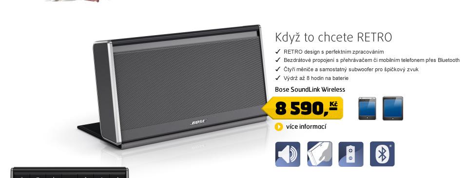 BOSE SoundLink Wireless - nylon