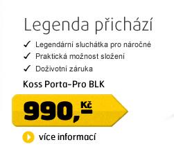 KOSS Porta-Pro BLK