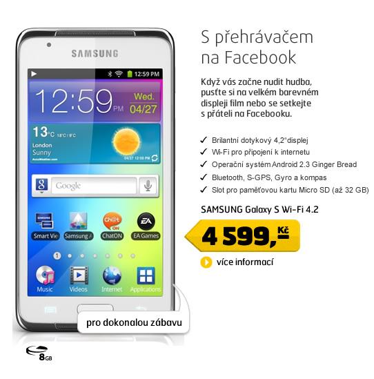 SAMSUNG Galaxy S Wi-Fi 4.2 white