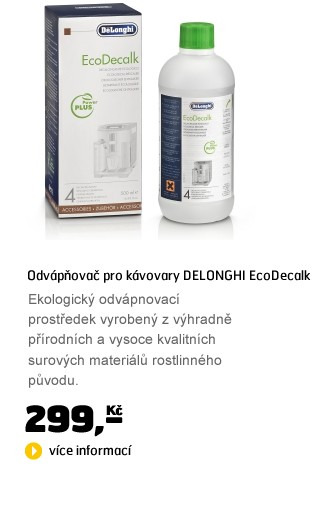 EcoDecalk - odvápňovač pro kávovary