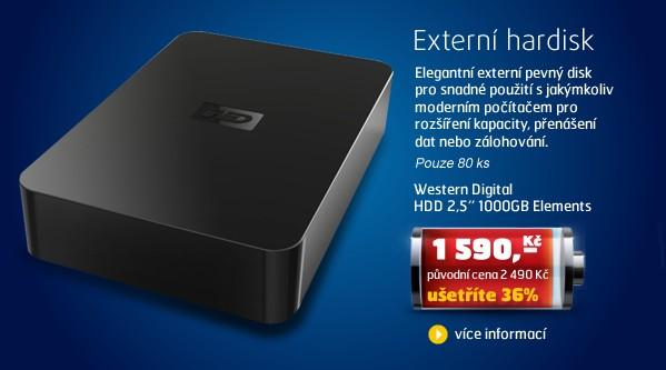HDD 2,5'' 1000GB Elements