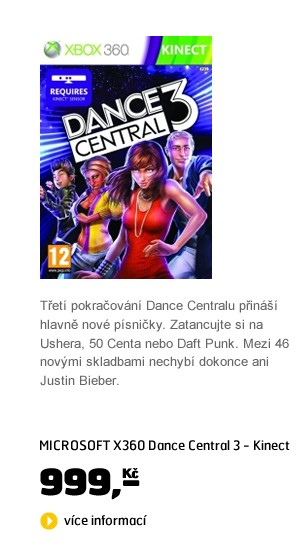 X360 Dance Central 3 - Kinect