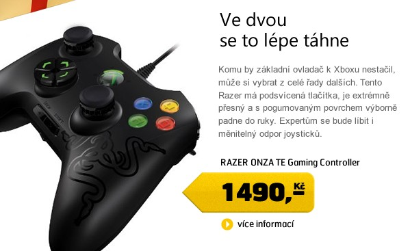 ONZA TE Gaming Controller for Xbox360