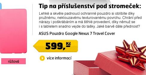 Pouzdro Google Nexus 7 Travel Cover růžové
