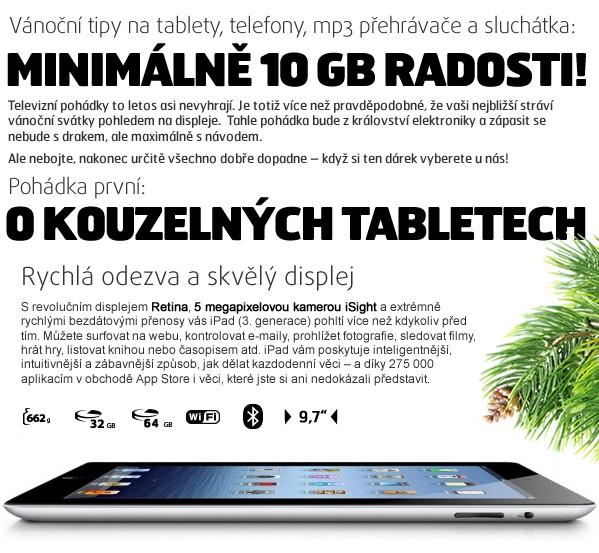 nový iPad 32GB Wi-Fi + 4G bílý