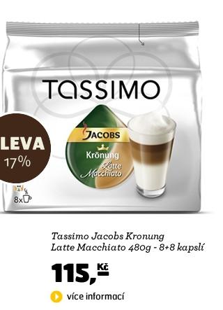 Jacobs Kronung Latte Macchiato 480g - 8+8 kapslí
