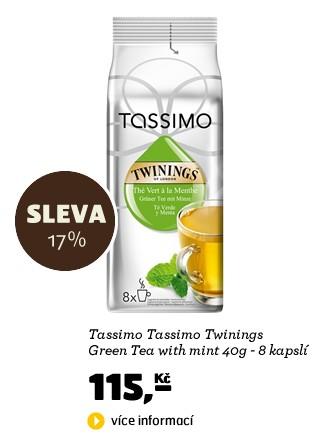 Tassimo Twinings Green Tea with mint 40g - 16 kapslí