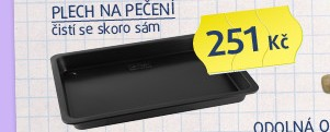 Plech 42x29x4cm,EASY CLEAn, antiadhezivní