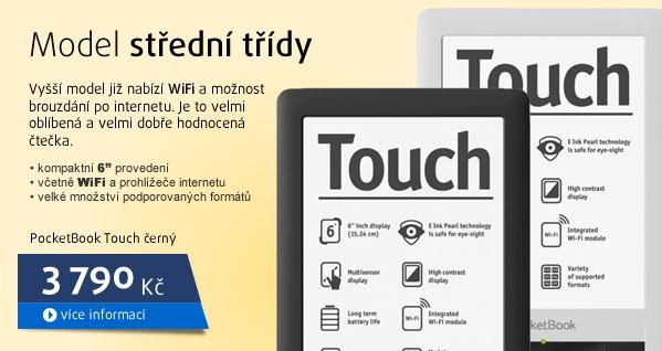 Touch černý PRO 622