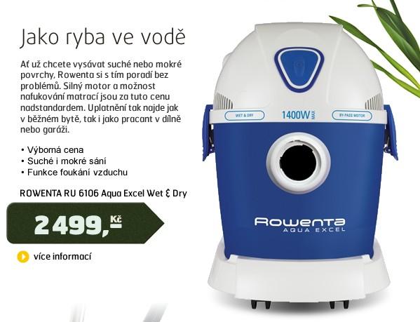 RU 6106 Aqua Excel Wet & Dry