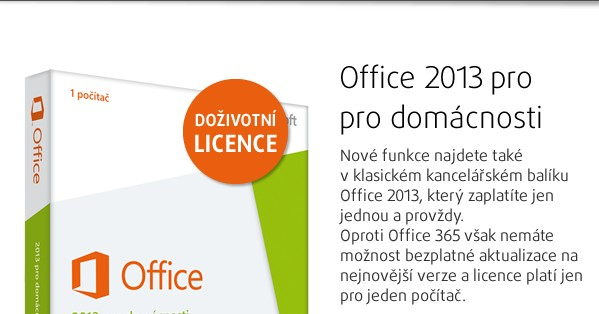 Office Home and Student 2013 32-bit/x64 CZ