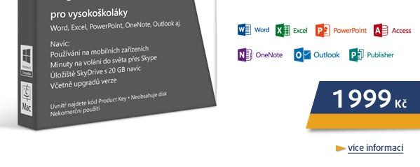 Office365 University 32-bit/x64 CZ,4 roky