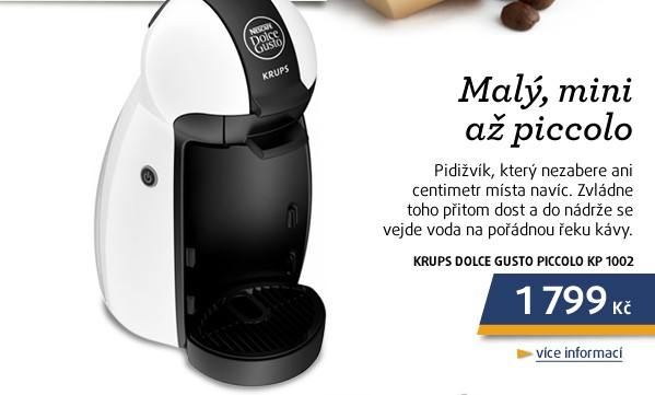 KP 1002 Dolce Gusto piccolo w