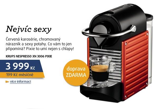 Nespresso XN 3006 Pixie Red