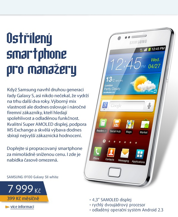 i9100 Galaxy SII  white
