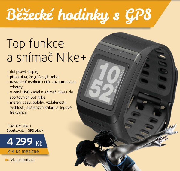 Nike+ Sportswatch GPS black