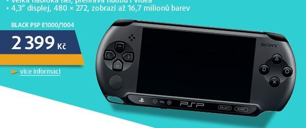 Black PSP E1000/1004
