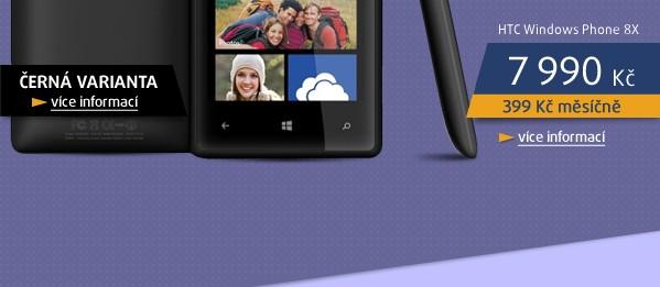 Windows Phone 8X by HTC Black