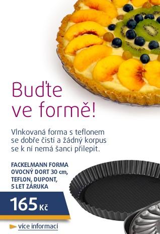 Forma ovocný dort 30cm, teflon, DuPont, 5 let záruka