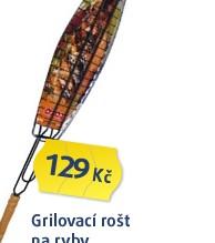 ROŠT GRIL.NA RYBY 65X36X12,5