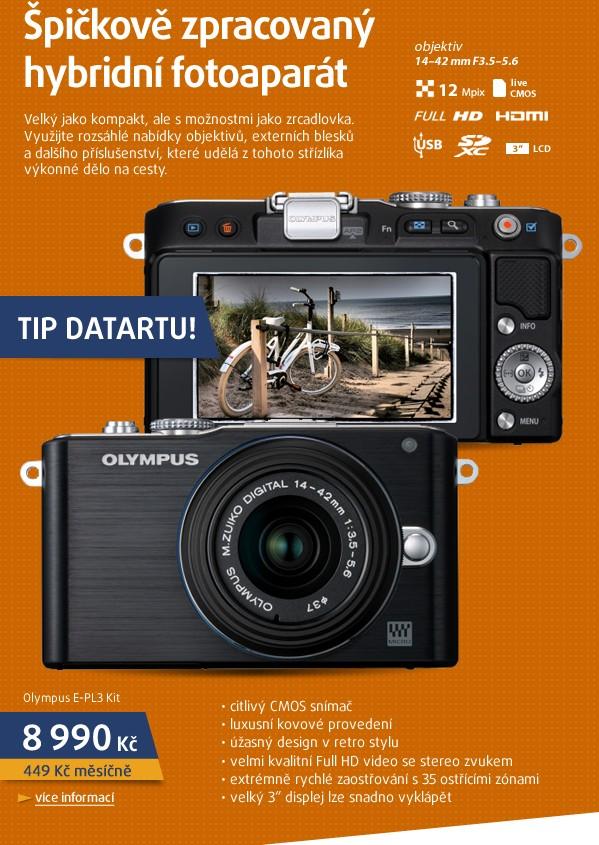 E-PL3 Kit + 14-42 mm black/black