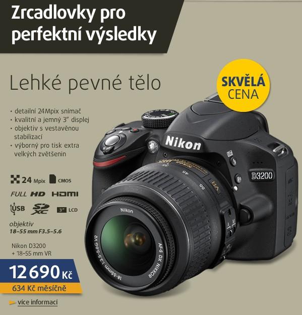 D3200 + 18-55 AF-S DX VR