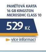 *** 16GB microSDHC karta Class 10