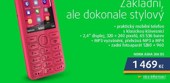 Asha 206 DS Magenta