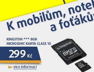 *** 8GB microSDHC karta Class 10