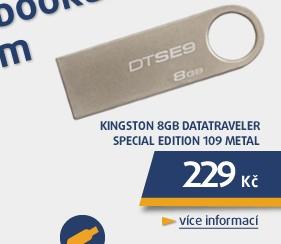 8GB DataTraveler Special Edition 109 Metal - kovový