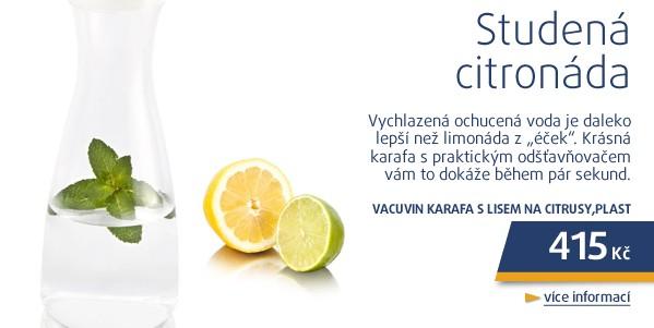 Karafa s lisem na citrusy,plast