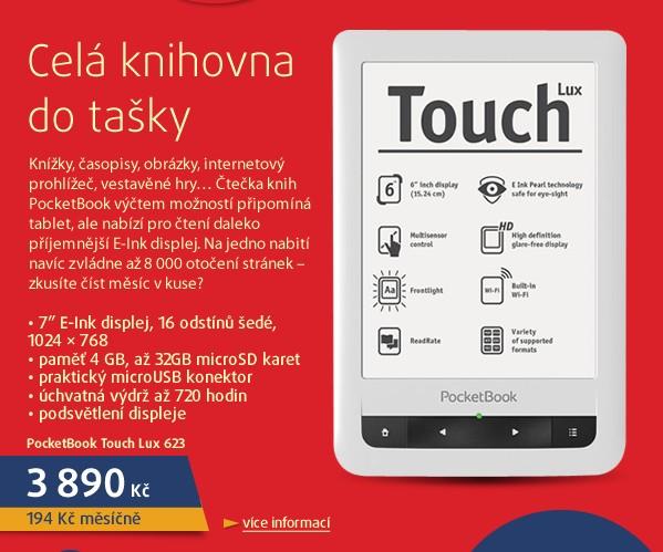 Touch Lux (623), bílý