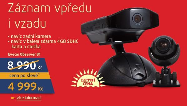 Observer B1- přední + zadní kamera