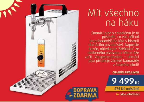 Chladič PYGMY20K LI20K Profi kompresor - sada