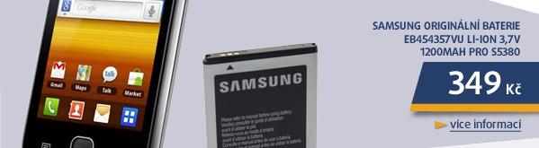 Originální baterie EB454357VU Li-ion 3,7V 1200mAh pro S5380