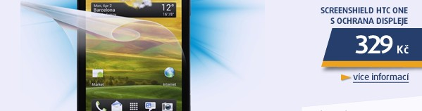 HTC ONE S ochrana displeje