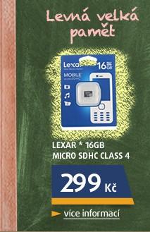 * 16GB Micro SDHC Class 4