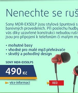 MDR-EX50LPR