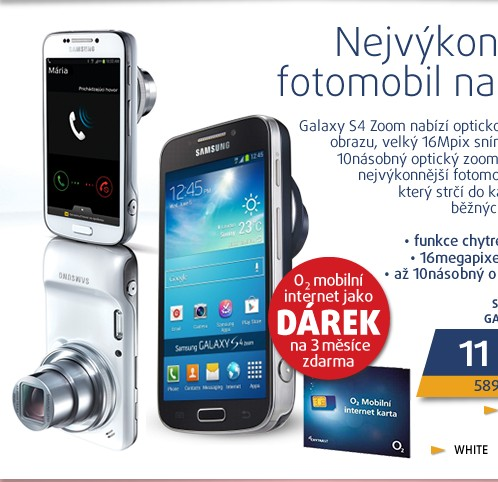 C1010 Galaxy S4 zoom White
