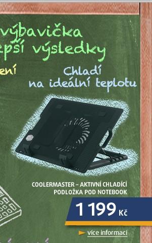 NotePal ErgoStand - Aktivní chladící podložka pod notebook s