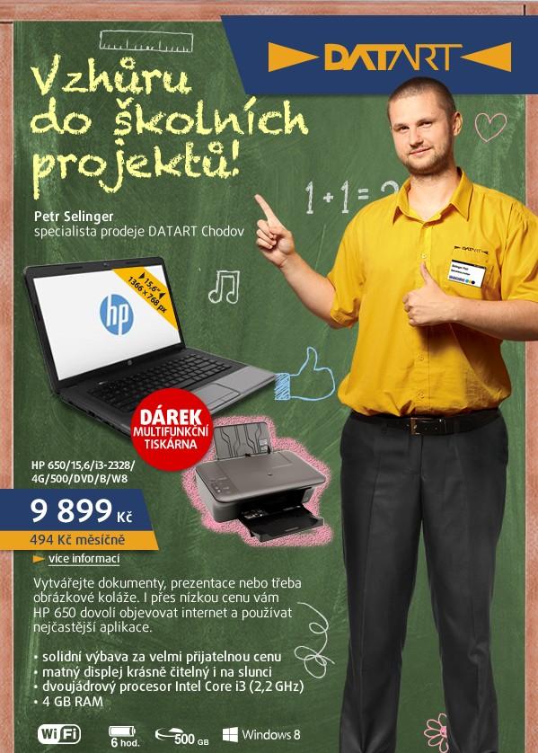 HP 650/15,6/i3-2328/4G/500/DVD/B/W8